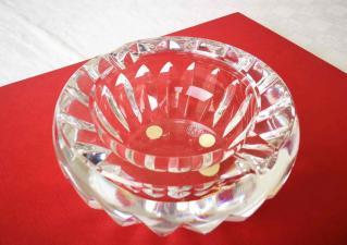 Cristal cendrier baccarat