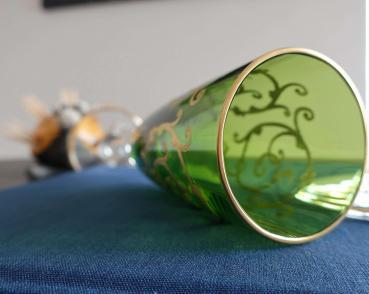 Cristal couleur flute st louis