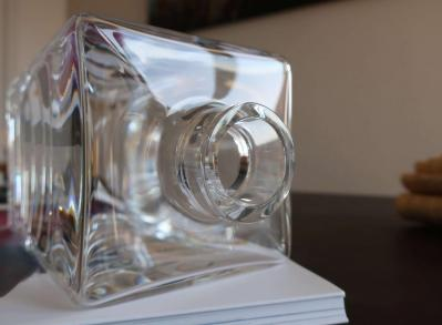 Cristal daum carafe