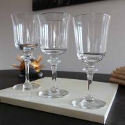 Cristal daum saumur service verres