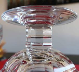 Cristal fort taille ancien baccarat