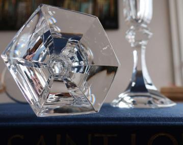 Cristal taille st louis estampille