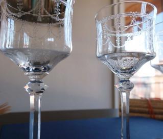 Cristallerie saint louis verres