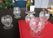 Crystal baccarat glasses price