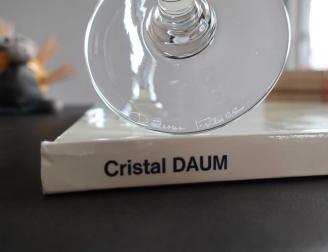 Daum france signature cristal