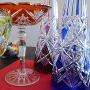 Fantaisie cristal baccarat coupe carafe taille
