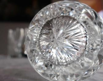 Florence estampille cristal saint louis