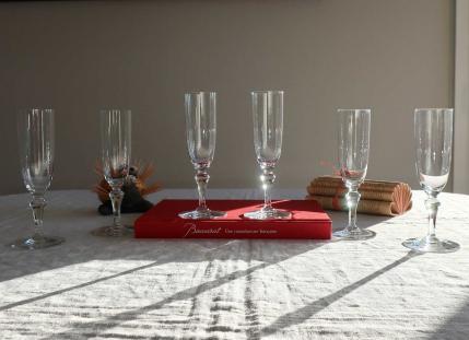 Flute baccarat cristal normandie