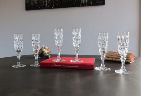 Flute champagne france cristal