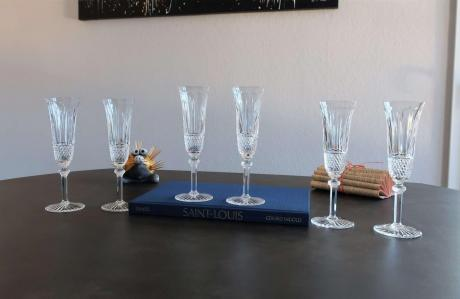 Flutes tommy saint louis cristal