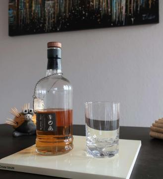 Gobelet verre whisky daum cristal
