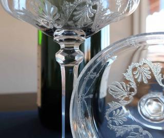 Gravure cristal saint louis anvers