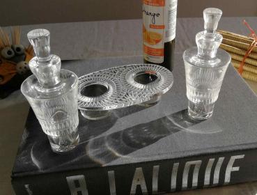 Huilier vinaigrier cristal