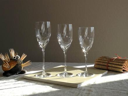 Iroise verres service daum cristal