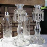 Laetitia saint louis cristal flambeaux collection