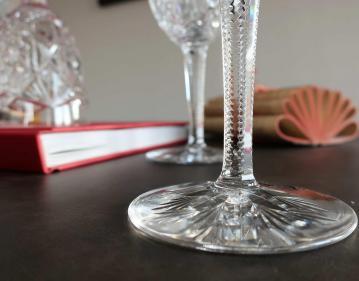 Lagny baccarat cristal verres
