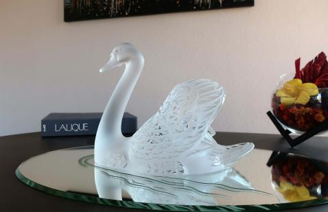 Lalique france cygne
