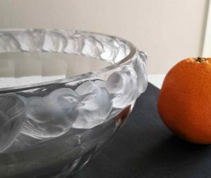 Lalique verre moule mesanges