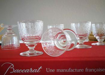 Lulli verre a liqueur cristal baccarat