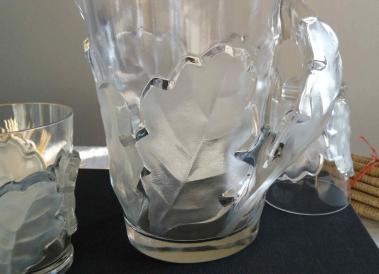 Moule presse lalique verre