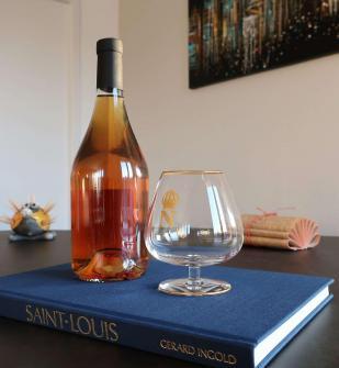 N napoleon cognac saint louis cristal verre