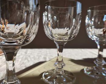 Occasion prix verres en cristal