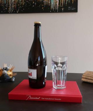 Occasion verre chope harcourt cristal