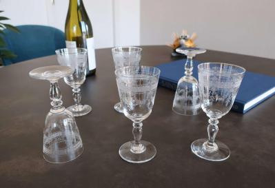 Papin verres anciens