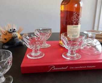 Porto verres en cristal baccarat