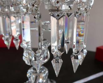 Prismes a dard baccarat cristal