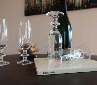 Prix cristal daum service verres