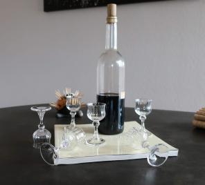Prix verre liqueur cristal daum