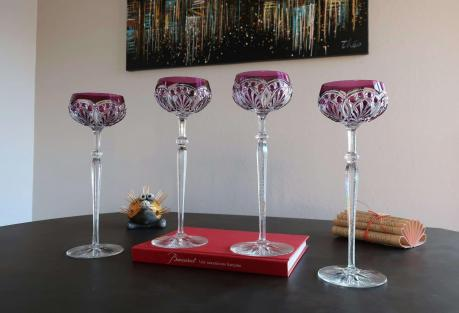 R363 cristal baccarat coupes