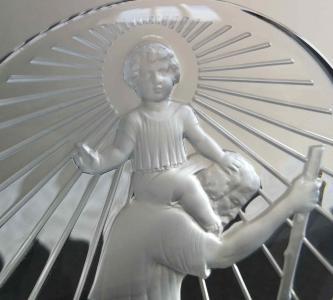 Saint christophe lalique rene