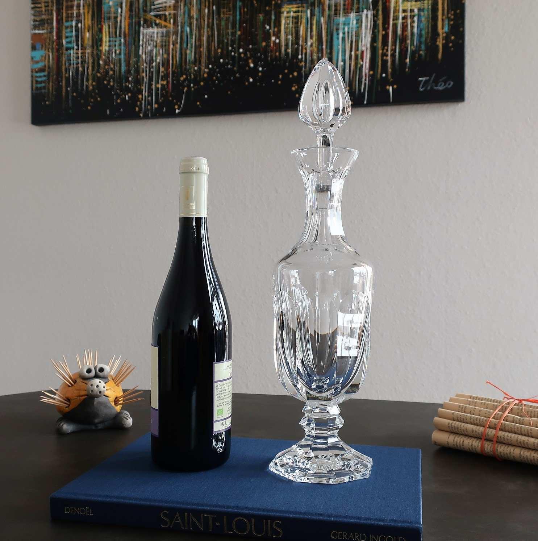 Carafe à vin Chambord, cristal Saint Louis