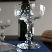 Saint louis cristal metz taille gravure ancien