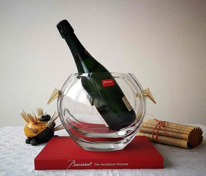 Seau a champagne baccarat cristal