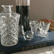 Service a liqueur saint louis cristal 1948