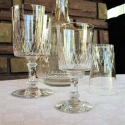 Service champigny richelieu baccarat verres