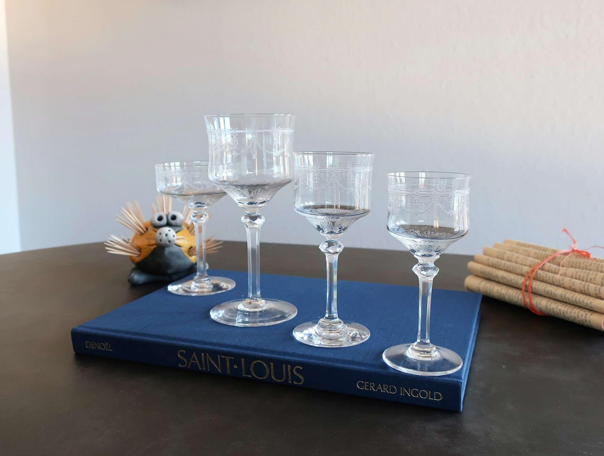 Service de verres Anvers, cristal Saint Louis