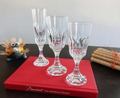 Service de verres cristal baccarat d assas