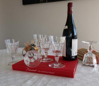 Service de verres missouri baccarat cristal