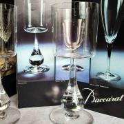 Service jose baccarat verres cristal tabacoff