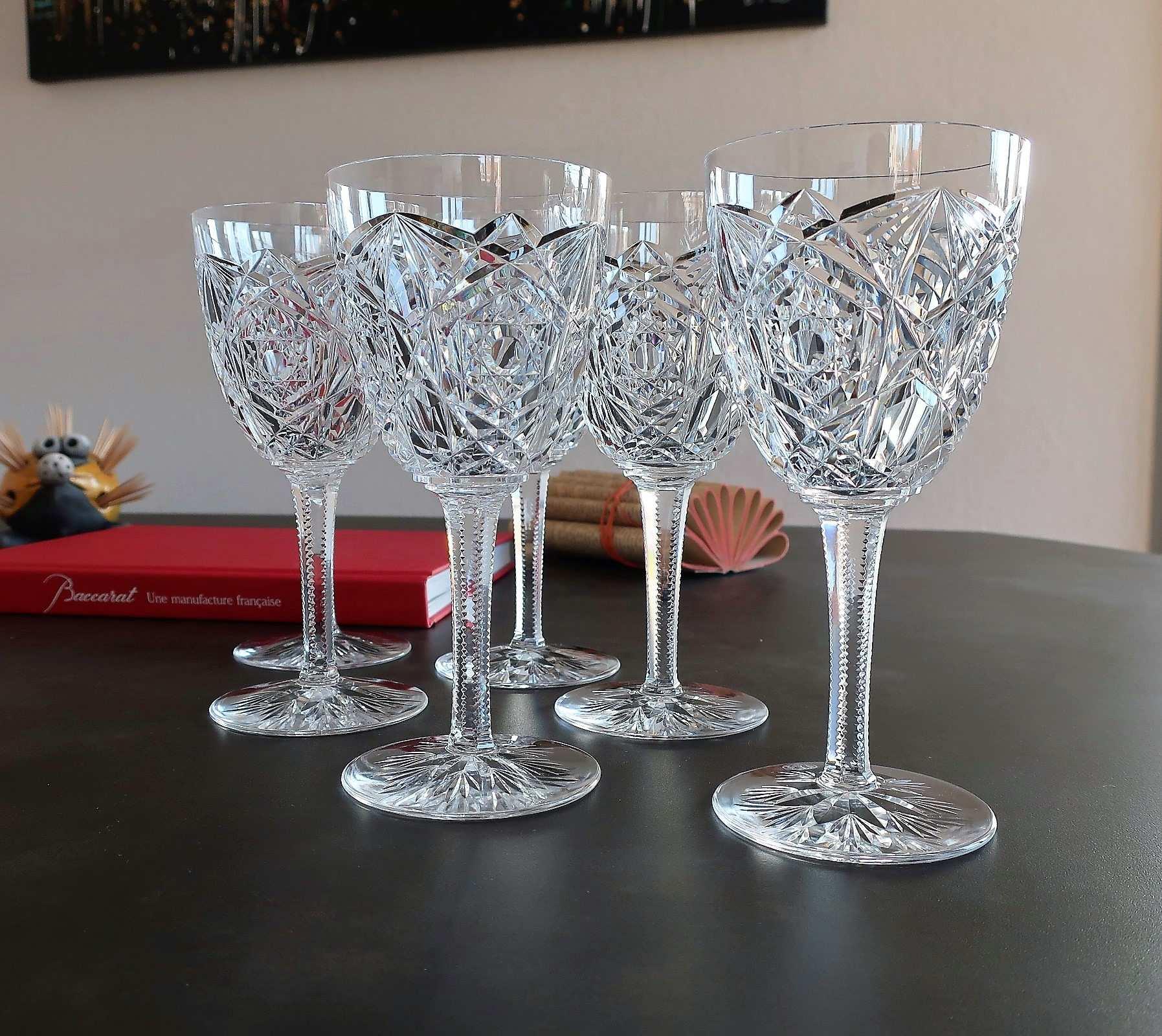 Verres Lagny cristal Baccarat