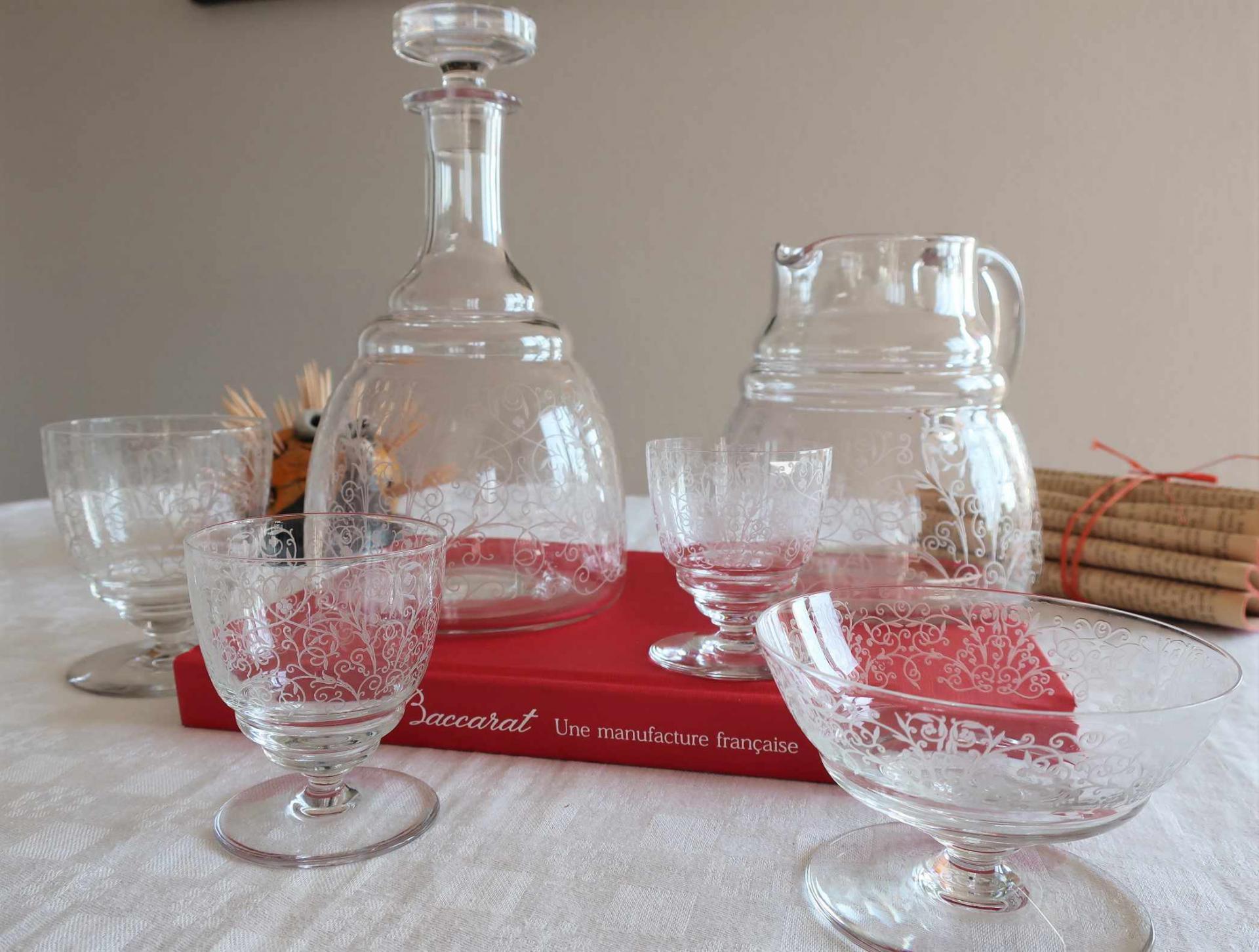 Service Lulli, cristal Baccarat