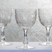 Service verre maintenon cristal baccarat