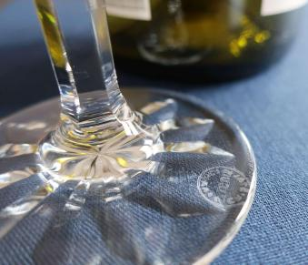 Stamped estampille acide acid saint louis