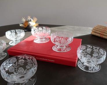Tableware crystal baccarat fontenay roses