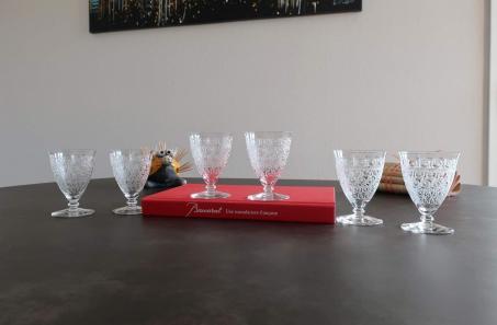 Tableware crystal glasses baccarat