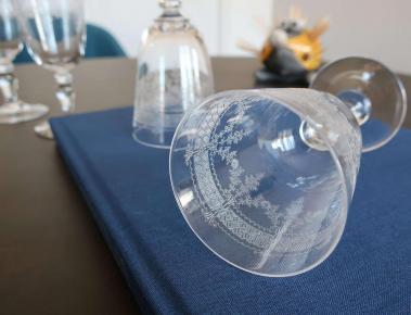Tableware crystal saint louis